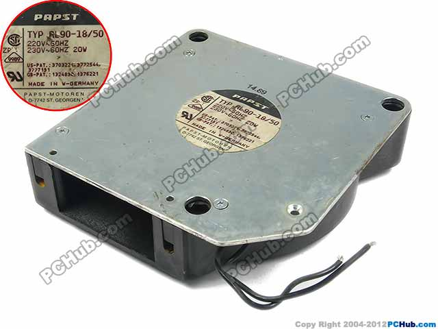 ebm papst ebm-papst TYP RL90-18/50 AC 220V 20W 120x120x32mm Server Blower fan ebm papst papst typ 6248 n 22 dc 48v 18w 4 wire 4 pin 170x170x50mm server round fan