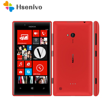 Original Unlocked 720 Nokia Lumia 720 Windows Phone 8 Dual-c