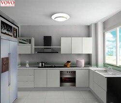 Высокий глянцевый лакированный завод кухонной мебели