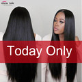 "Cheap 7A Peruvian Virgin Hair Straight 8""-28"" Peruvian Hair Bundles 3 Pcs Human Hair Peruvian Straight Virgin Hair Natural Color"