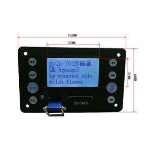 Image 2 - Tenghong decodificadores MP3 Bluetooth 4,2 con grabación, MP3 WAV WMA APE DC5V, batería de 12V, placas decodificadoras de entrada de Audio bidireccional para bricolaje