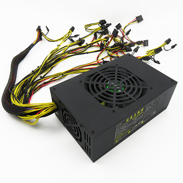 Low noise 1600W pc power supply ATX PSU rx480 gpu psu for server-in ...