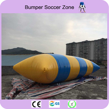 Free Shipping 5*2m 0.9mm PVC Inflatable Trampoline Water Pillow Inflatable Water Water Blob Jump Jump Bed