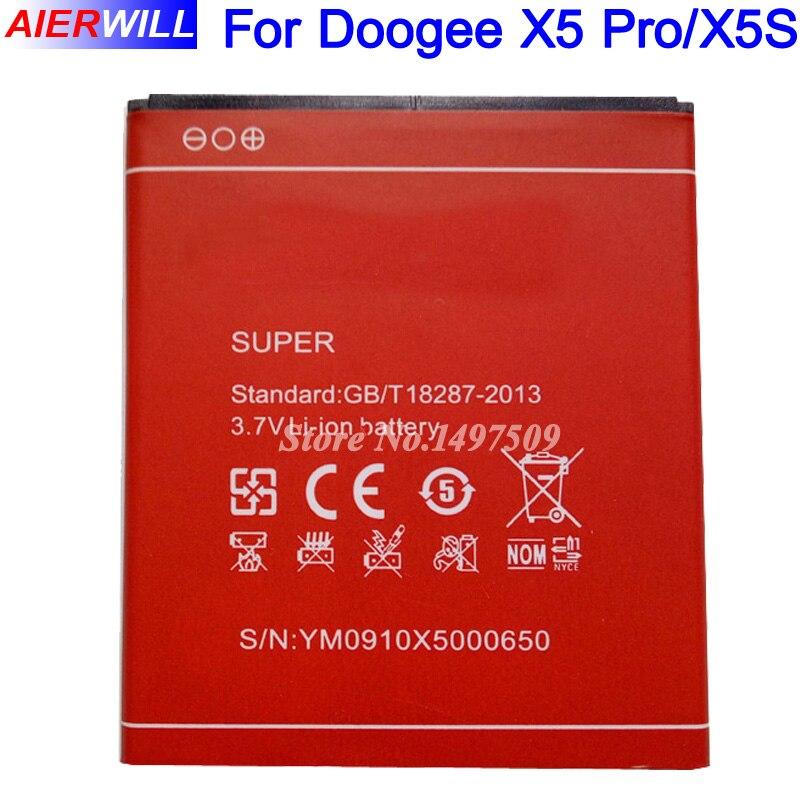 3100 mAh Batterie Pour Doogee X5 X5 X5 Pro Bateria Batterij Accumulateur AKKU PIL Haute Qualité