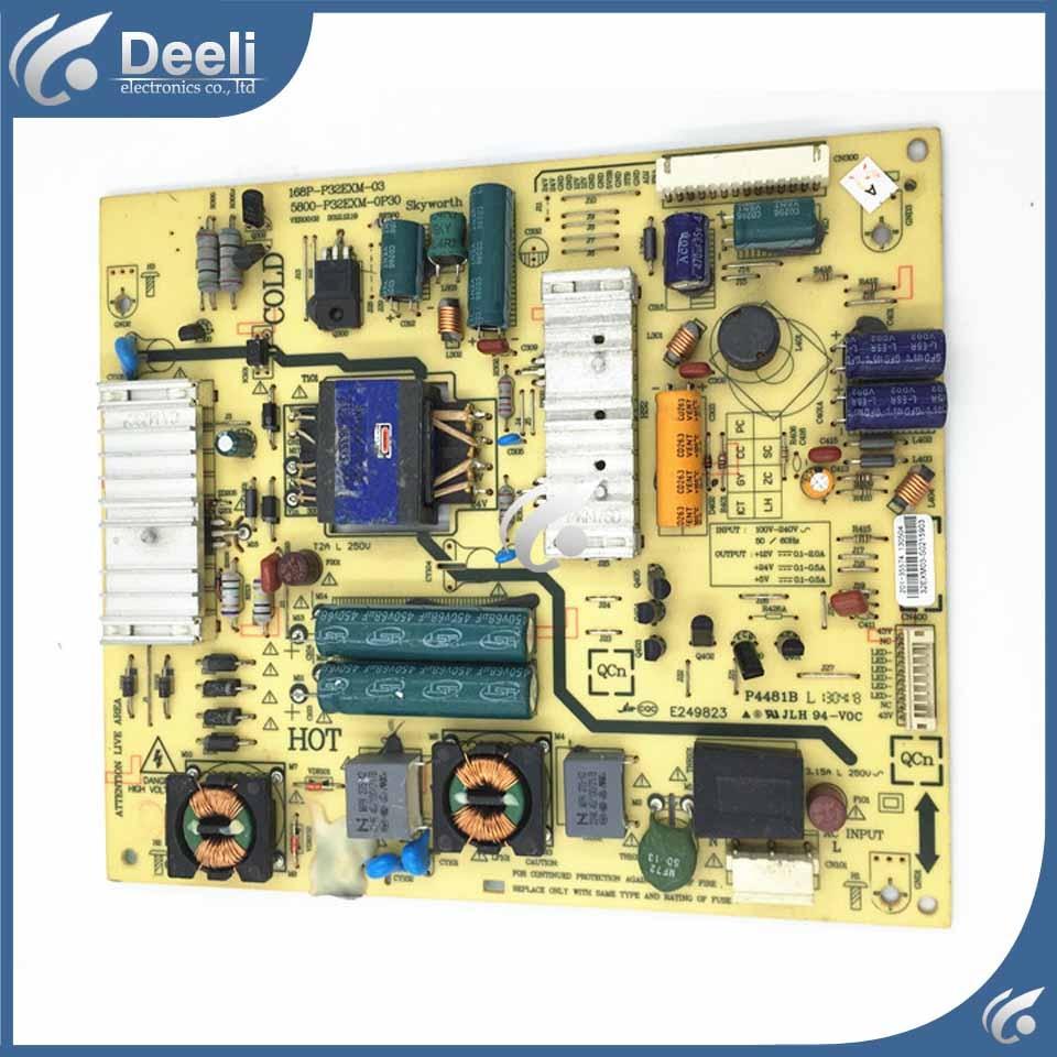 High quality power board 168P-P32EXM-03 5800-P32EXM-0P30 used board work ok 5800 p42tlk 0160 168p p42tlk 15 original led power board