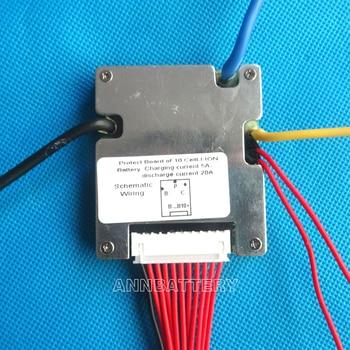 36В литий-ионная батарея BMS, 36В 20А литий-ионные аккумуляторы BMS, с сбалансированной функцией и переключателем ВКЛ/ВЫКЛ.