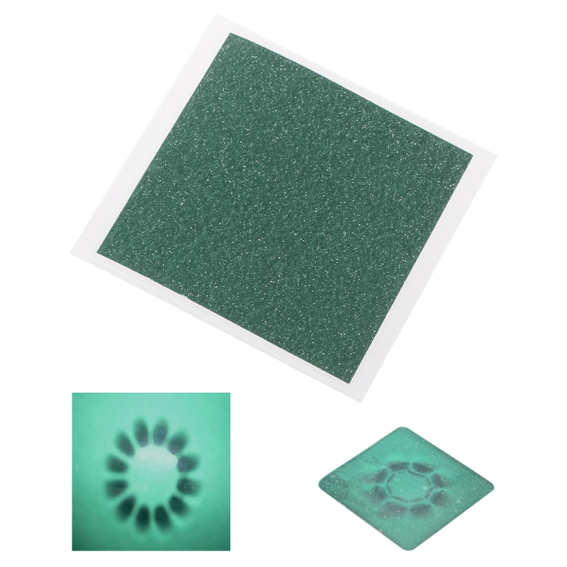 Magnetic Field Viewer Viewing Film 50x50mm Card Magnet Detector Pattern Display #Sep.08