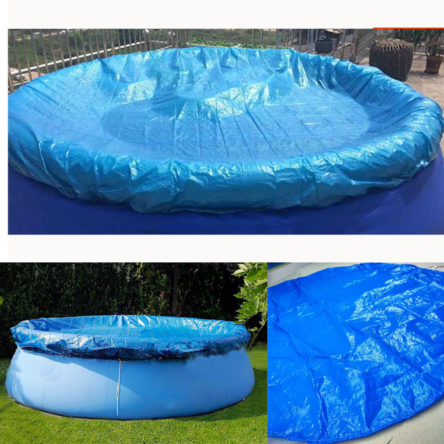US $13.89 34% OFF|7.87 ft Spa Hot Tub Round Swimming Pool Cover -in Pool &  Accessories from Sports & Entertainment on Aliexpress.com | Alibaba Group