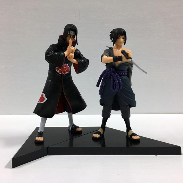 Sasuke & Itachi Uchiha Figures (2 pcs)