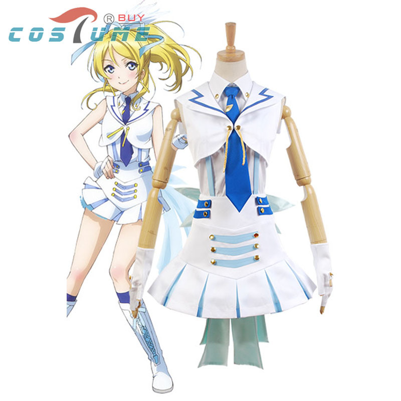 Anime LoveLive! Love Live Wonderful Rush Eli Ayase Cosplay Costumes For Women Halloween Costume