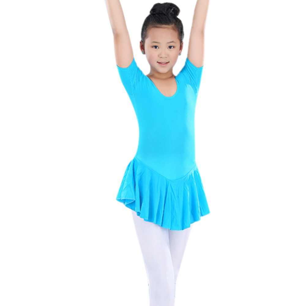 8c79d7fa6 New Fashion Kid 2-14Y Ballet Tutu Leotard Soft Skirt Toddler Girl nastics  Dance Dress