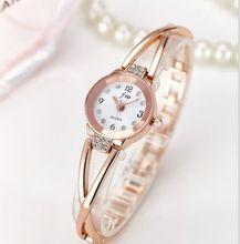 2017 New Luxury Fashion bracelet Watch Women Wristwatches Brand Quartz Rhinestone Watches stainless steel Watch relogio feminino