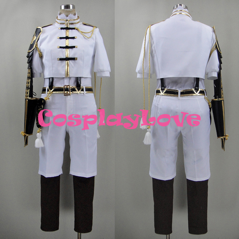 New Custom Made Japanese Anime Touken Ranbu Online Monoyoshi Sadamune Cosplay Costume CosplayLove High Quality