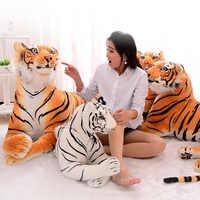 160 см милые 3D моделирование тигр плюшевые игрушки сидящие Тигр мягкие игрушки декорация для дома (без хлопка)