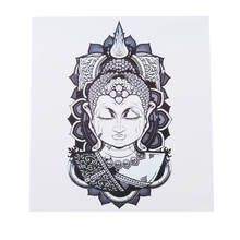 цены Buddha Belief Waterproof Tattoo Stickers Sweat Lasting Beautiful Stripes Logo Hot Sale Flower Arm Tattoo Tattoo Stickers