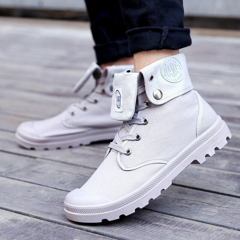 Men Snow Boots 2019 Fashion Canvas Cotton Ankle Boots Autumn Winter Boots Men Shoes Zapatos De Hombre Chelsea Boots Casual Shoes