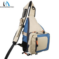 Maximumcatch Fishing Bag Fly Fishing Sling Pack Bag Light Weight Outdoor Sport Equipment