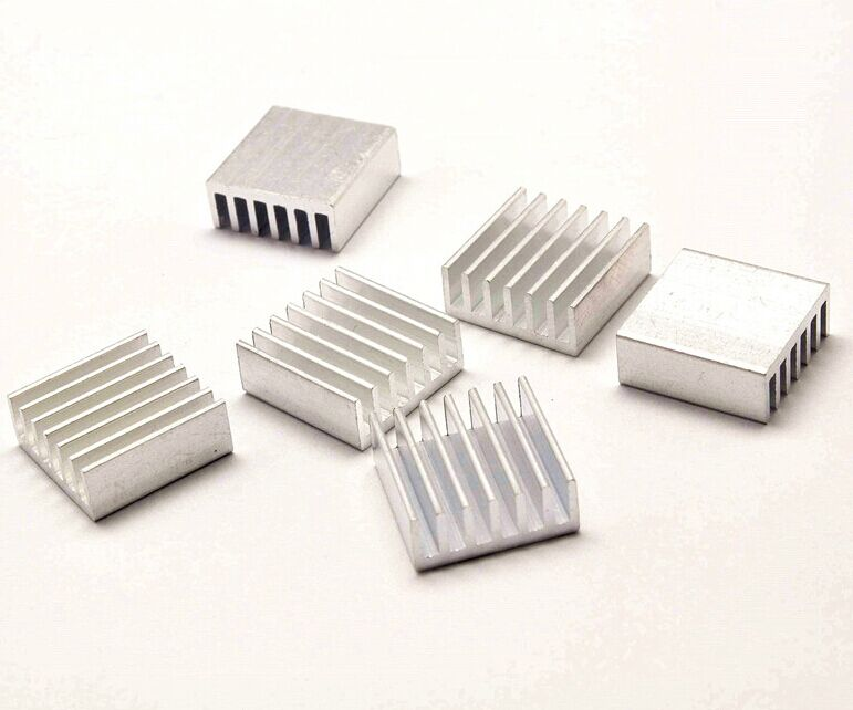 Computer 3PCS Aluminum Heat Sink COOLING COOLER PIN For Raspberry Pi 2 3 B