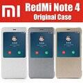 Zck6050 mi redmi note 4 case original marca inteligente bolsa em couro magnético flip capas para xiaomi redmi nota4 prime helio x20