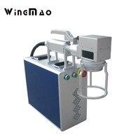 Fiber Laser Marking Machine Metal Aluminum 10w 20w 30w laser graver machine for date code glasses frame number fiber laser