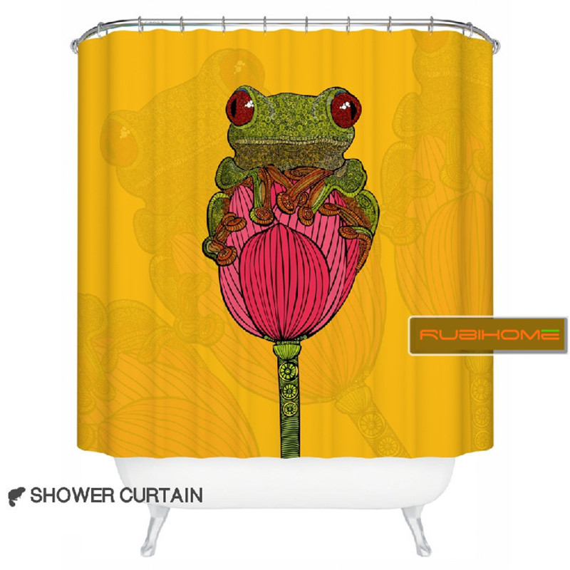 Compare Prices On Frog Shower Curtains Online Shopping