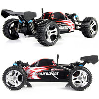 WLtoys A959 Electric Nitro Rc Car 1/18 2.4Ghz Remote Control 4WD Car High Speed Off Road Car Racing Monster For Childre