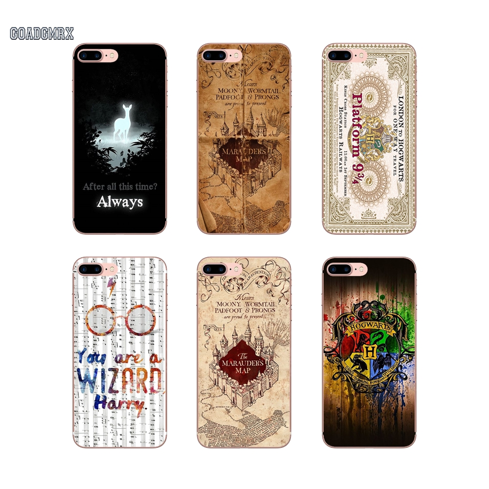 Case-Cover Harry-Potter Silicone Pocophone F1 Xiaomi Redmi 8-Lite Mi-Max For 2-s2/Note/6/..