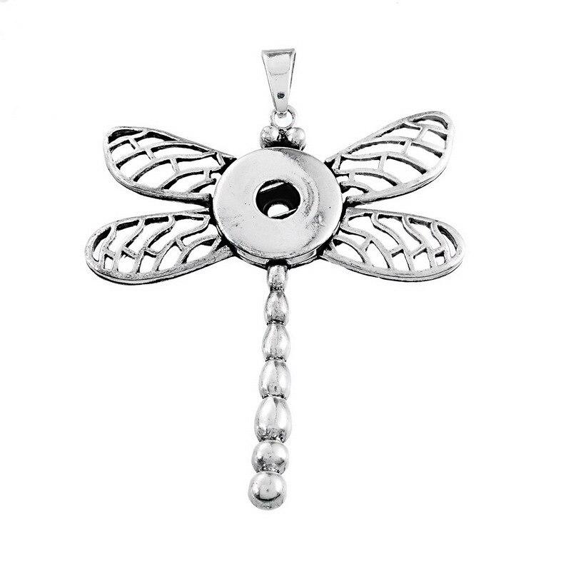 лот со стразами dragonflylock оснастки кулон для женщин Fit 18 20 мм кнопки  Новая кнопка 82a44e3c231