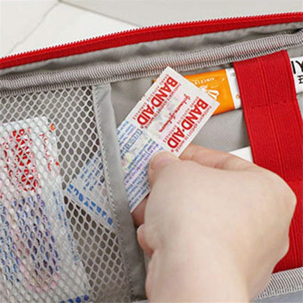 Portable Camping First Aid Kit Emergency Medical Bag Storage Case Waterproof Car kits bag Outdoor Travel Survival kit Empty bag 5