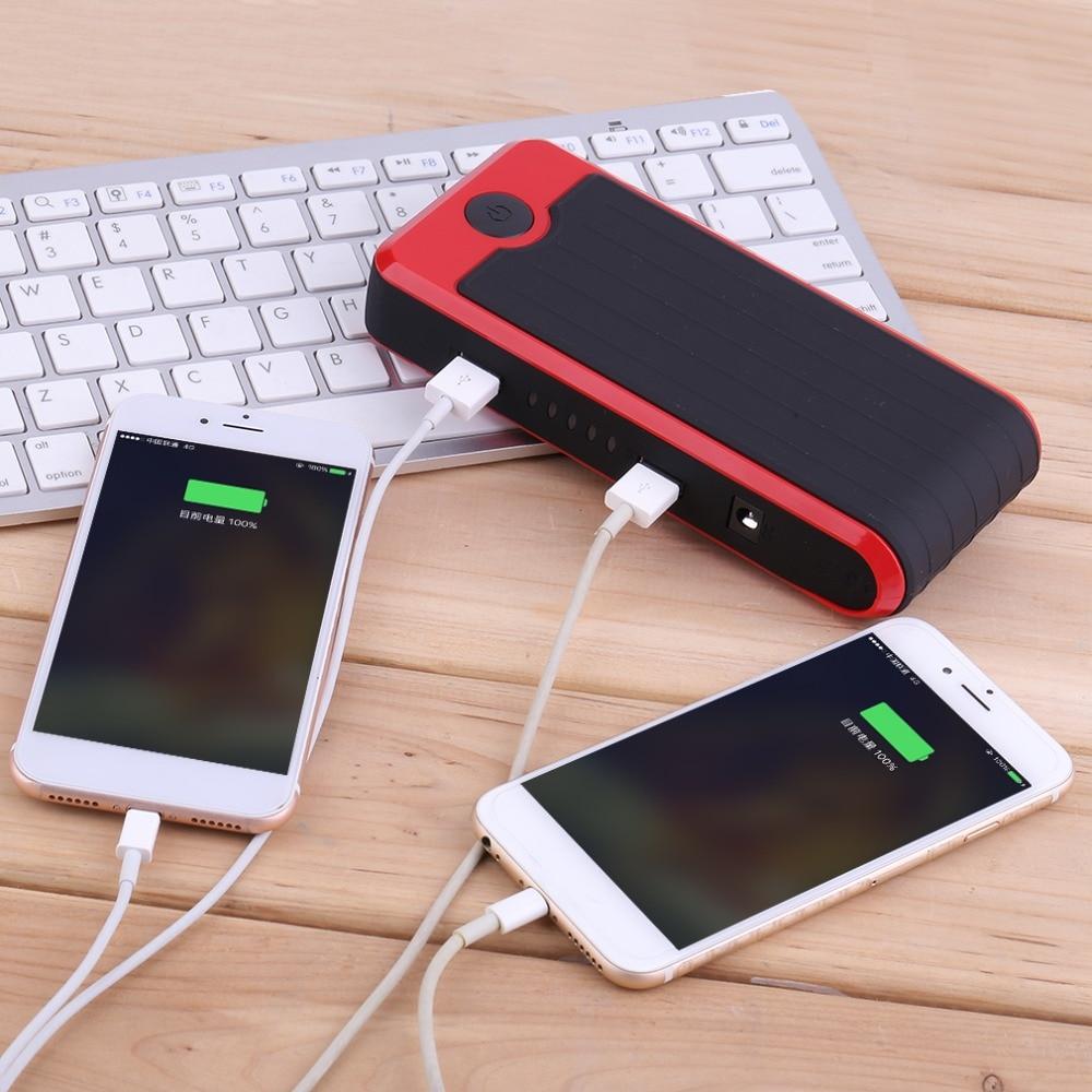 Nouveau Nouveau 50800 mah Portable Mini Taille Automatique Puissance Banque Batterie Véhicule D'urgence Chargeur De Voiture Jump Starter Booster Rouge - 5