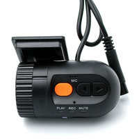 Hot Mini Car DVr Car Camera Detector HD 720P 30FPS With 120 Degree Wide Angle Lens