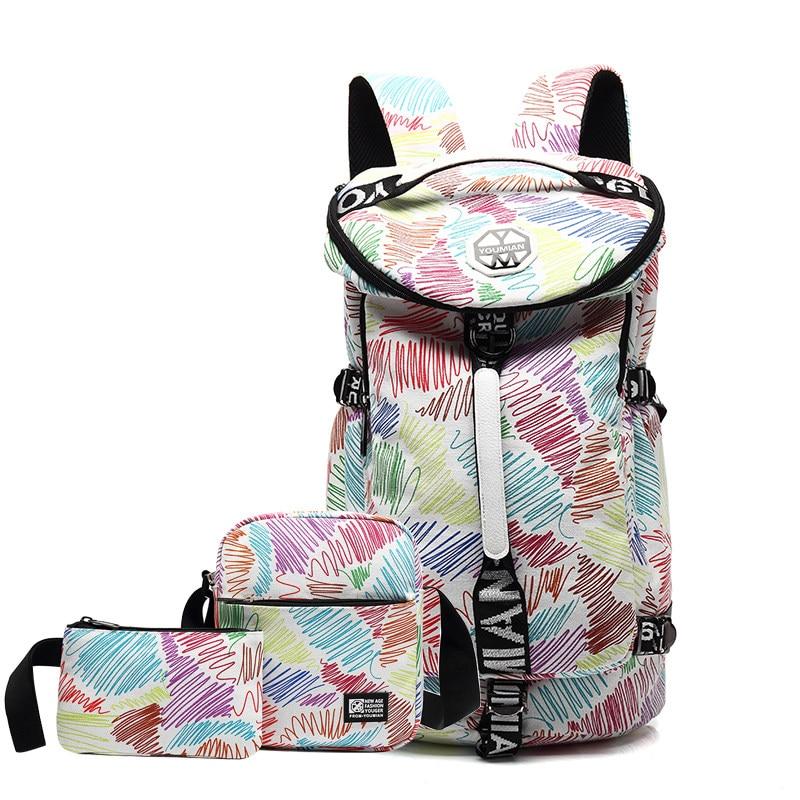 Men Women Travel Backpack Multifunction Portable Ball Sports Crossbody Bag Training Yoga Handbags Durable Canvas Fitness