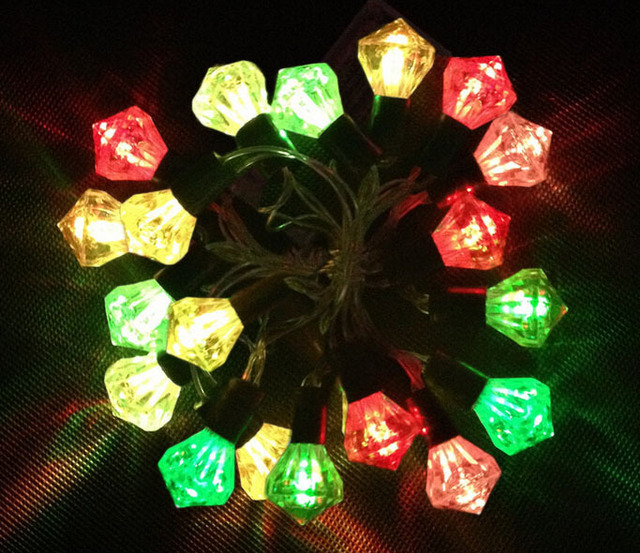 10leds Patio String Lights Decoration Battery Operated Led Garden Christmas Light Festival Decorations Supplies