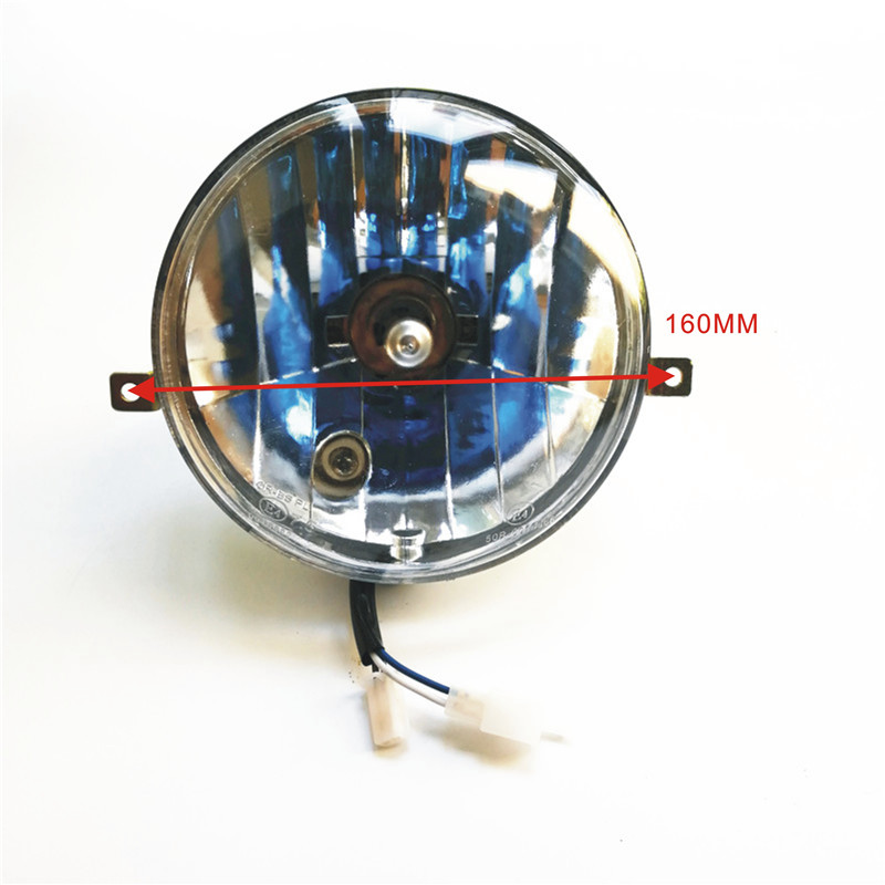 Headlights Head Lamp Blue Light For Vespa LML Star Stella Delux PX 125 150 200 New
