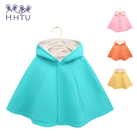 HHTU Bread Baby Cloak Boy Girl Clothes Child Cotton Coat Jackets Baby Cape Cloaks Clothes For