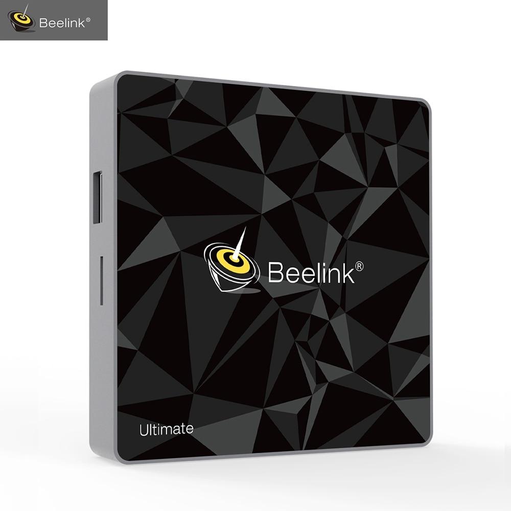 Beelink GT1 Ultimate Smart TV Box Amlogic S912 CPU 3G+32G Android 7.1 Bluetooth 4.0 2.4G/5.8G WiFi TV Set Top Box Media Player beelink gt1 ultimate 3g 32g tv box android amlogic s912 octa core media player 5g wifi bt 4 0 smart box set top box pk x92