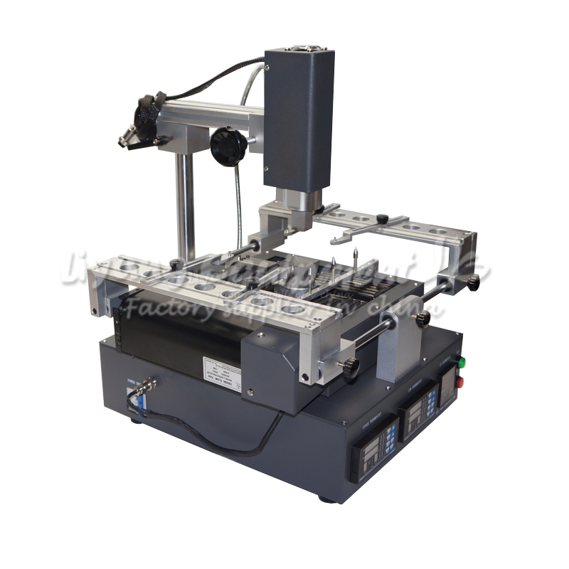 T300 hot air BGA Rework Station 3 zones panel control with softare control soldering station