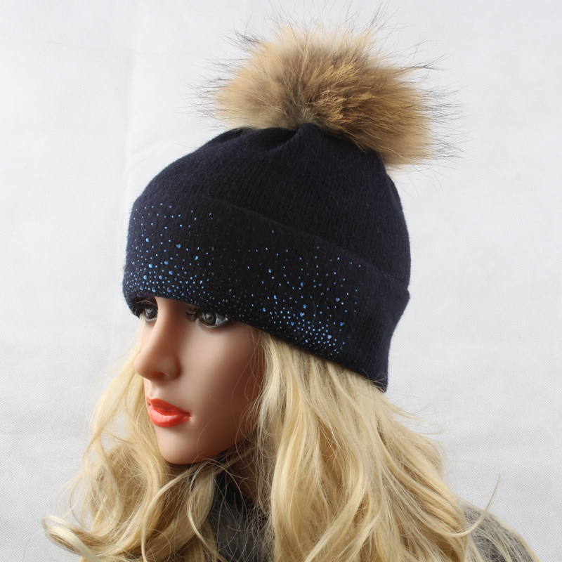 Hat Bobble Warm Real 15