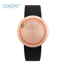 LAVARO 7mm Ultra Thin Women Dress Watch Stylish Luxury Rose Gold Stainless Steel Quartz Watches Leather Best Gift For Ladies