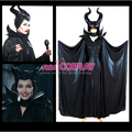 New Arrival Movie Maleficent 2014 Angelina Jolie Outfit Dress Cosplay Costume In stock for Size S M L