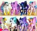 14cm Anime Toy Collection Princess Celestia Luna Nightmare Night little Cute Unicorn Rarity Horse Toys