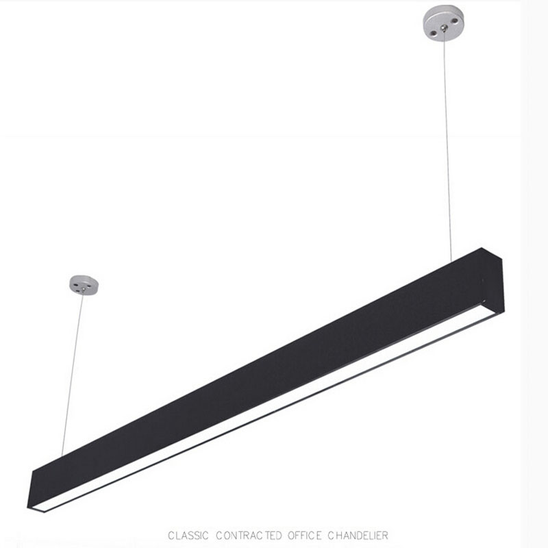 Zx modern aluminum led chip pendant lamp engineering hanging wire zx modern aluminum led chip pendant lamp engineering hanging wire strip light fixture for office conference room study lamp in pendant lights from lights mozeypictures Choice Image