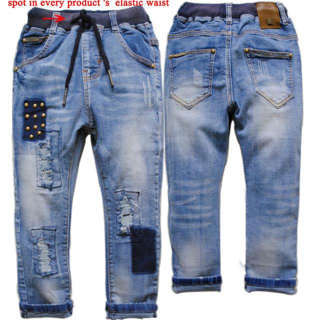 3927 pantalones de mezclilla suave Niños chicos pantalones vaqueros pantalones de los cabritos del otoño del resorte pantalones casuales pantalones VAQUEROS MUCHACHO de LA MANERA 2016 NUEVO