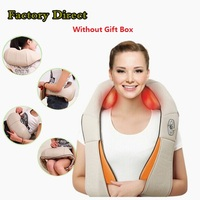 2016 Multifunction Health Care Infrared Car Home Dual Massager Acupuncture 3D Massager Knead Pillow DHL Free
