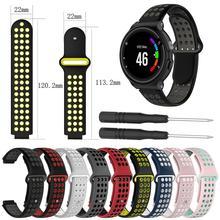 Силиконовый сменный ремешок для часов Garmin Forerunner 230 235 220 620 630 735 Смарт-часы с множеством цветов