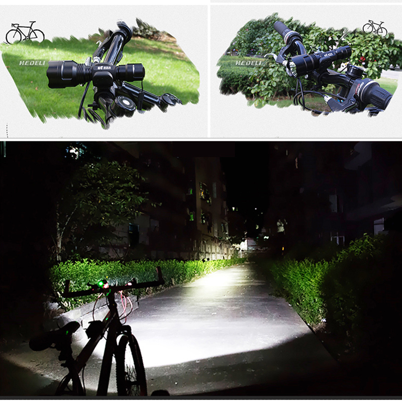 1 mode tactical flashlight self defense torch xml t6 l2 flash light waterproof search lanterna for hunting 18650 Battery zaklamp