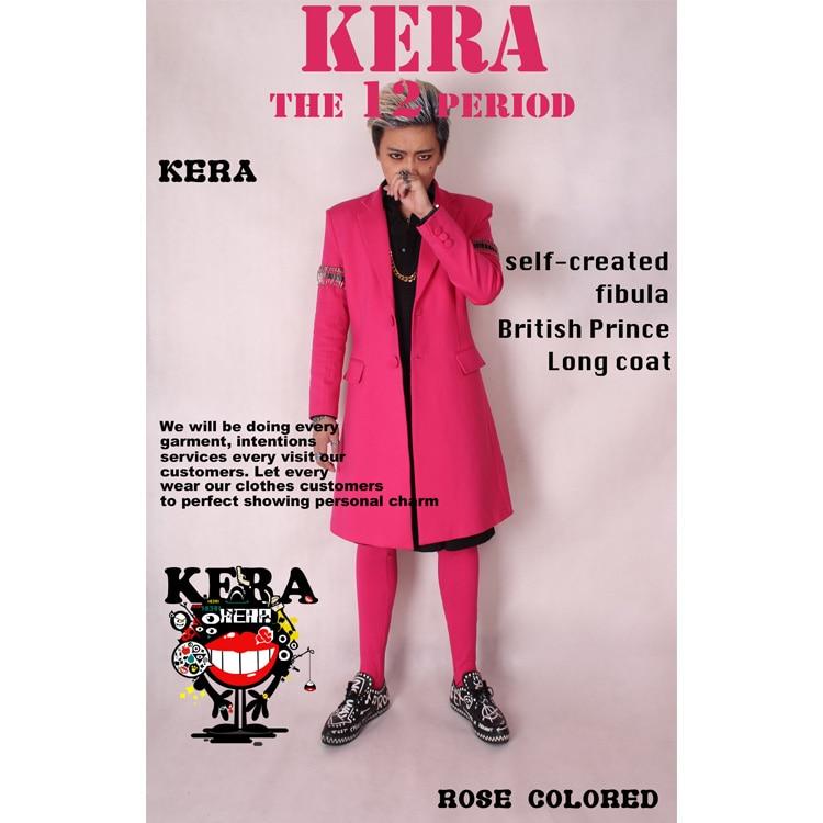 Free Shiping!!! Buddhistan Kera <font><b>Red</b></font> Suit Long Outerwear Pins Sleeve <font><b>Length</b></font> <font><b>Socks</b></font> Set Costume S-XXL