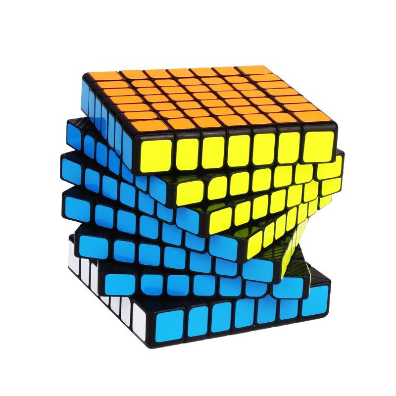 YUXIN Hays M 7x7x7 cubos mágicos magnéticos Hays 7x7 Cubo de velocidad profesional imán Cubo mágico rompecabezas Cubo juguetes para niños