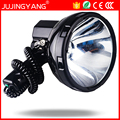 JUJINGYANG High power xenon lamp outdoor handheld hunting fishing patrol vehicle 220W HID searchlights 160W hernia spotlight 12v