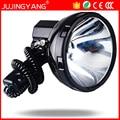 Jujingyang alta potência da lâmpada xenon veículo de patrulha 220 w escondeu holofotes handheld caça pesca ao ar livre 160 w hérnia holofotes 12 v